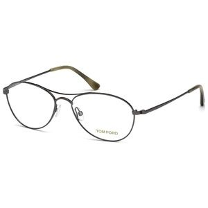 New unisex Tom Ford Dark Ruthenium Eyeglasses